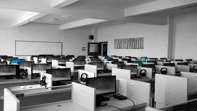 počítačová místnost
