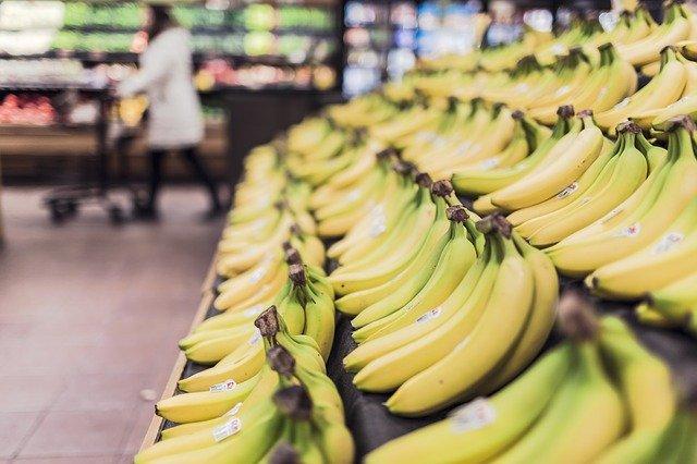 banány na prodej